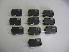 10 NEW SZM-V16-FD-63 FD63 NORMALLY OPEN MICROWAVE OVEN DOOR MICRO SWITCH RE1