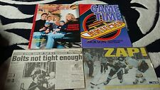 Vancouver canucks v tampa bay lightning ice hockey programme.