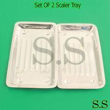 SET OF 2 Scaler Tray Dental Surgical Medical Instruments