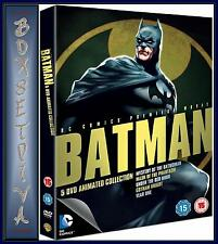 BATMAN - ANIMATED COLLECTION BOXSET - 5 MOVIES  **BRAND NEW DVD  **