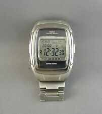 VINTAGE CASIO DIGITAL MEN'S WATCH DB-E30 TOUGH SOLAR DATA BANK