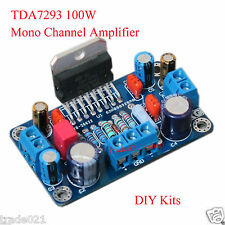 TDA7293 100W Mono Single Channel Amplifier Board Module DIY Kits New