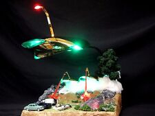 WAR OF THE WORLDS MARTAIN WAR MACHINES CUSTOM DIORAMA WITH LIGHTS & SOUND