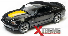 GREENLIGHT 12869B 1:18 2010 FORD MUSTANG GT BLACK W/HOOD STRIPE DIECAST MODEL