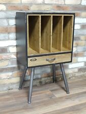 Industrial SCHEDARIO RECORD Vinile Record Player Storage Look informale