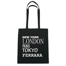 New York, London, Parigi, Tokyo FERRARA - Borsa Di Iuta Borsa - Colore: nero