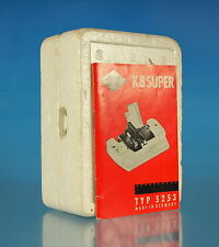 Agfa k8 Super klebepresse para Super 8 tipo 5253 Splicer colleuse - (50950)