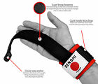Senshi Japan Weight Lifting Straps With Dowel Gym Barbell Support Wraps Wrists
