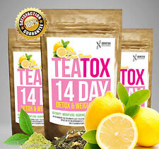 CITRUS LEMOM✶SLIMMING TEA✶14 DAY DETOX✶WEIGHT LOSS✶DIET✶BURN FAT SKINNY TEA