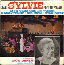 """SYLVIE """"DE LILLE"""" / JACK DEFER 60'S EP GERMINAL 18"""