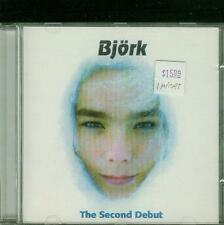 Second Debut [B-sides, Remixes, Rarities] by Björk Bjork (CD, 1993)