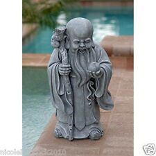 ANCIENT CHINESE GOD OF LONG LIFE ASIAN SCULPTURE SHOU XIN