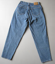 Vintage 90s High Waist Mom Jeans Loose Fit Tapered Leg Blue 12 Denim 30""