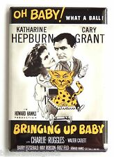 Bringing Up Baby FRIDGE MAGNET (2.5 x 3.5 inches) movie poster cary grant