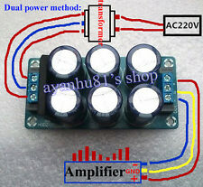 AC 6V-28V 25A Rectifier Filter Power Supply Board Single Dual Power Out Assemble