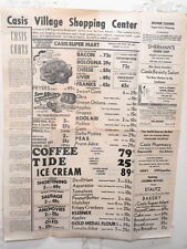 Poster Flyer Casis Village Grocery Shopping Ctr Exposition Austin Texas 1955 #4