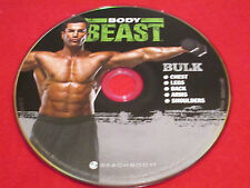 BODY BEAST - BULK: Chest / Legs / Back / Arms / Shoulders - New Fitness DVD *