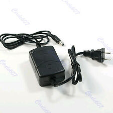 110V 220V AC Power Supply Adapter DC 12V 1A 2000mA Home Wall Charger Black