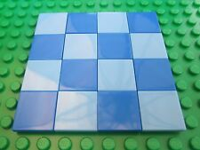 Lego Light & Dark Blue Floor Tiles boards city town smooth water sea river 2x2
