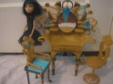 lot doll  Monster High Dead Tired 2008 Cleo De Nile,With Vanity  furniture