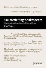 'Counterfeiting' Shakespeare: Evidence, Authorship and John Ford's Funerall Eleg