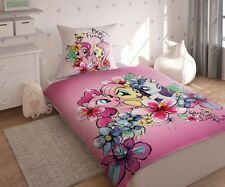 Bedding Set My Little Pony LICENSED 100%Cotton,Pinkie Pie,Fluttershy,Rarity UK