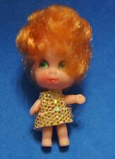 vintage liddle  kiddle sweet treats orange hair doll