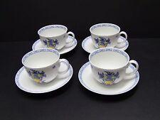 Vista Alegre VIANA Cups and Saucers / Set of 4