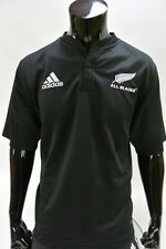 adidas New Zealand All Blacks Rugby Union Black Jersey SIZE L (adults)