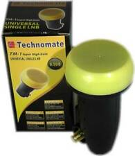 Technomate TM-1 Super High Gain GOLD 0,1 DB Singolo LNB HD Ready