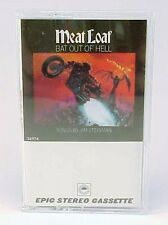 MEAT LOAF BAT OUT OF HELL 1977 CASSETTE EXCELLENT WITH NEW CLEAR JEWEL CASE