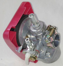66cc engine motor bike parts - speed carburetor red cover
