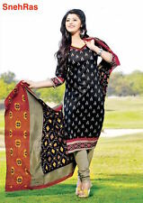Elegant Fancy Colourful Cotton Printed Salwar Suit Unstitched Dress Material
