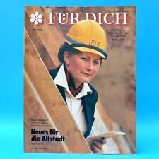 DDR FÜR DICH 23/1985 Tierpark Berlin Niederfinow KPD Gera Kuba Diexieland Mann
