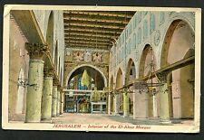 C1930's View of the Interior of the El-Aksa Mosque, Jerusalem