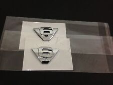NEW Escape V6 fender emblem badge decal logo symbol  - Pair