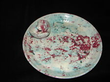 Huge Shelton's North Carolina Pottery Chip Dip Bowl Tray or Platter ~ NC Pottery