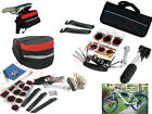 Bike Cycle Bicycle Tool Kit Carry Case Saddle Bag Pump Tyre Puncture Repair Set