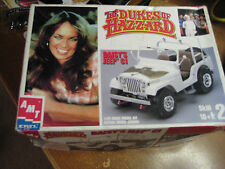 Vintage 1980 Dukes of Hazzard MPC Daisy's Jeep CJ 1/25 Scale Model Kit NIB USA
