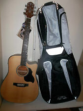 Crafter Lite DE SP n despn  electro-acoustic guitar & gigbag, new, waranteed