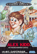 ## Alex Kidd in the Enchanted Castle - SEGA Mega Drive / MD Spiel - TOP ##