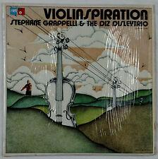 Stephane Grappelli & The Diz Disley Trio - Violinspiration 1975 BASF Shrink NM