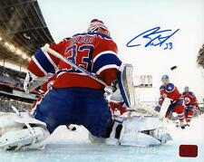 Cam Talbot Edmonton Oilers Signed Autographed NHL Heritage Classic Netcam 8x10