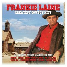 FRANKIE LAINE - GREATEST COWBOY HITS 2 CD NEU