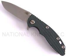 """Rick Hinderer Knives 3"""" XM-18 Slicer, Stonewash S35VN Blade, Ano. Bronze -Dealer"""
