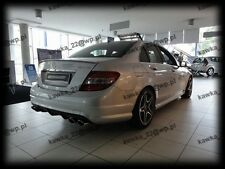 Mercedes C-Class W204 Saloon AMG Look Rear Trunk Boot Lip Spoiler ~PRIMED~