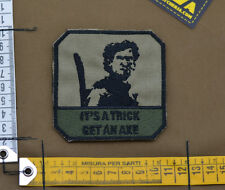 "Ricamata / Embroidered Patch Army of Darkness ""Get an.."" with VELCRO® brand hook"