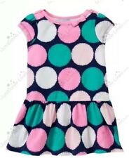 NEW Gymboree Girls 12-18 Mo Hop n Roll Line Sunny Dot Dress Curlies Drop Waist