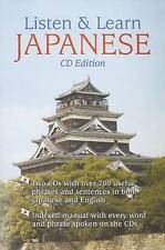 Listen & Learn Japanese  Book & Audio CD  2006 by Dover 0486996719