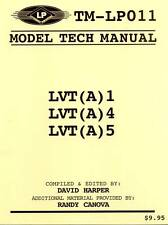 23871/ Letterman - Model Tech Manual - LVT (A) 1; LVT (A) 4 und LVT (A) 5 - TOPP